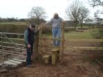 Testing the dog gate
