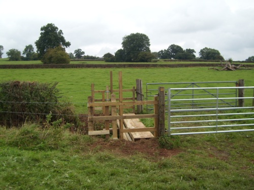 Fields secure and job left safely