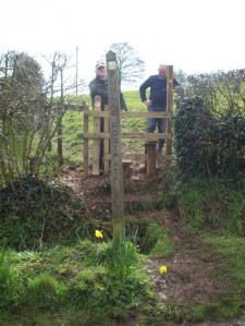 The bridge is poor and not in line with the stile