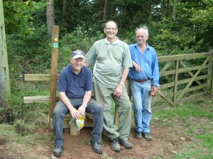 Peter, Keith and Richard proving the new stile is solid!